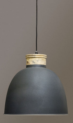 Queenspark Pendant with Wooden Top