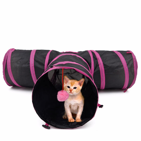 Tunnel de chat - Tunnel de chiot et chat - Tunnel pour chat -  Hobby & Passion