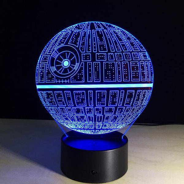 Veilleuse de nuit 3D Star Wars -  Hobby & Passion