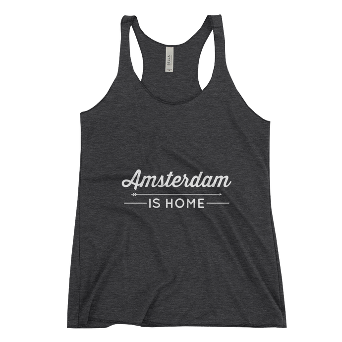 Amsterdam Is Home - Women's Racerback Tank
