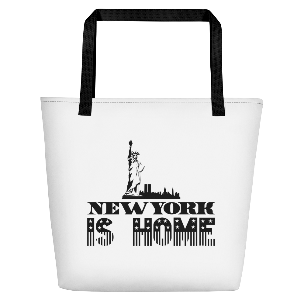 New York Is Home - Beach Bag