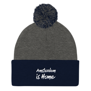 Amsterdam Is Home - Pom Pom Knit Cap