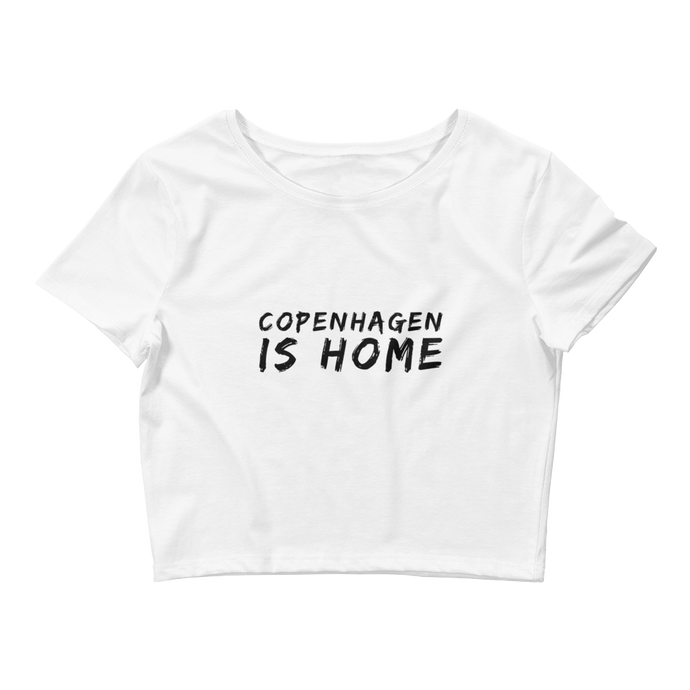 Copenhagen Is Home - Women's Crop Tee