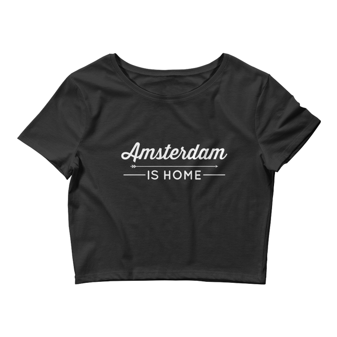 Amsterdam Is Home - Women's Crop Tee