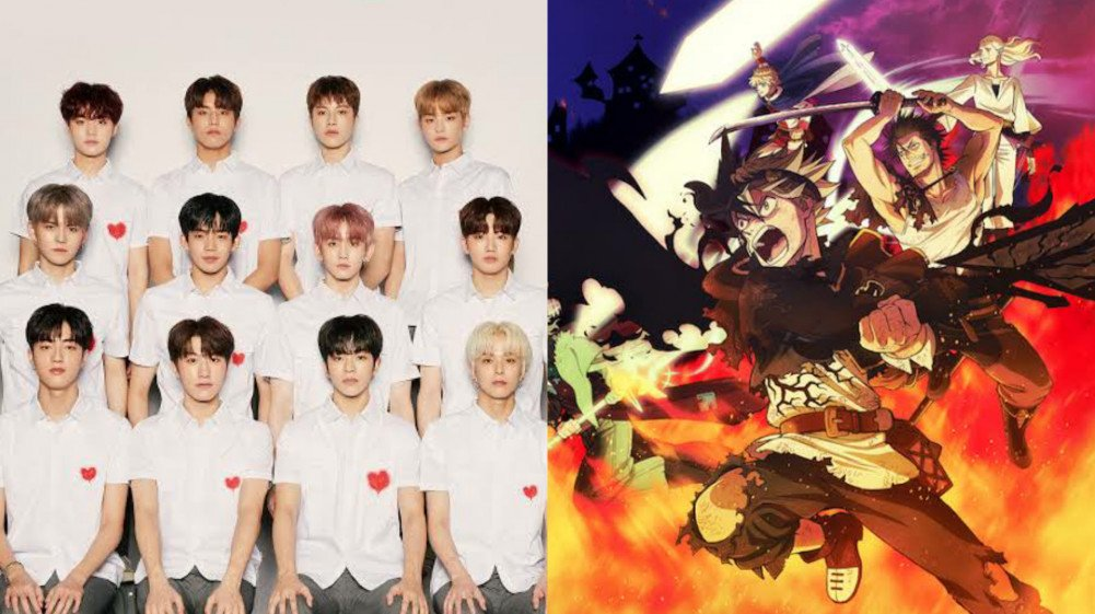Black Clover Anime Collabs With Kpop Group, Treasure