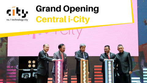 Central i-City Grand Opening with Sultan of Selangor at Heart of Selangor's Golden Triangle