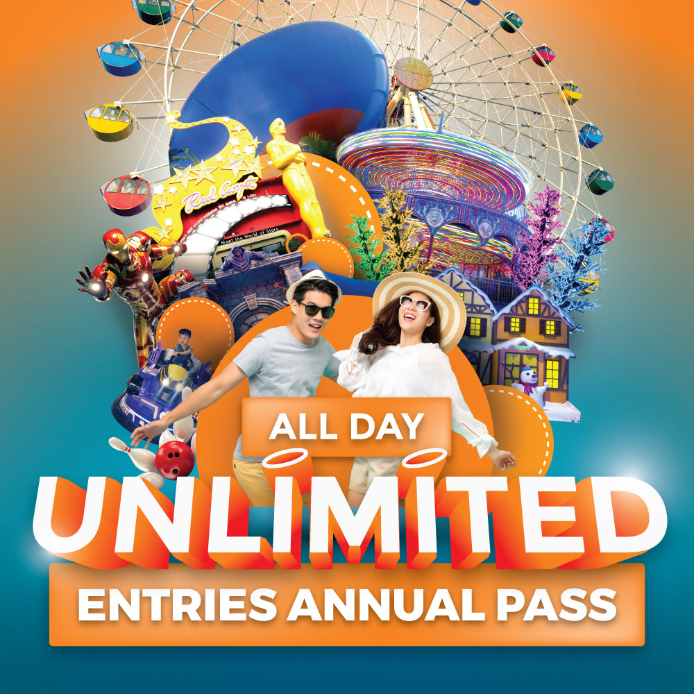 [Pusing Selangor Dulu] All Day Unlimited Entries Annual Pass