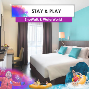 Stay & Play 2D1N (WaterWorld + SnoWalk)