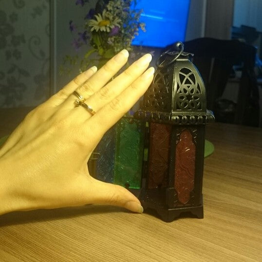 SMALL MOROCCAN CANDLE HOLDER
