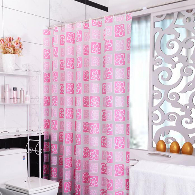 FLOWER PRINTED SHOWER CURTAIN – ROOMS OF FUN