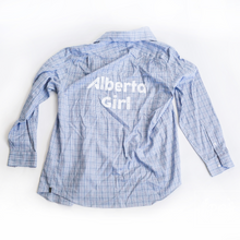 Vintage Button Down | Alberta Girl - Men's L | 1