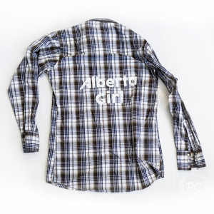 Vintage Button Down | Alberta Girl - Men's L | 2