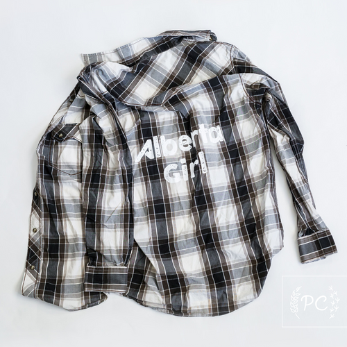 Vintage Button Down | Alberta Girl - Men's M | 3