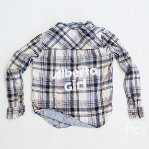 Vintage Flannel | Alberta Girl - Women's L | 1