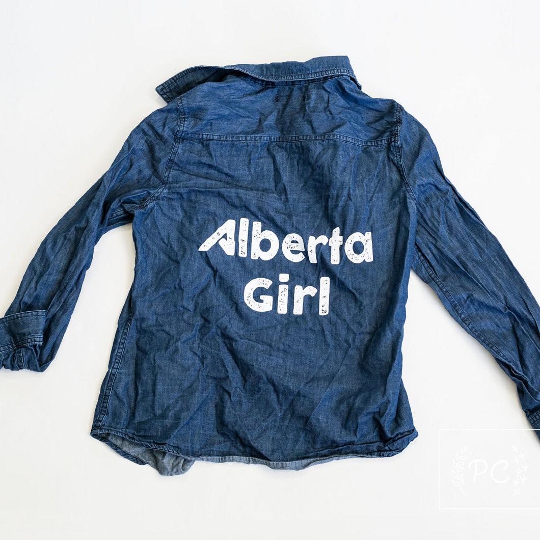 Vintage Denim | Alberta Girl - Women's M | 4