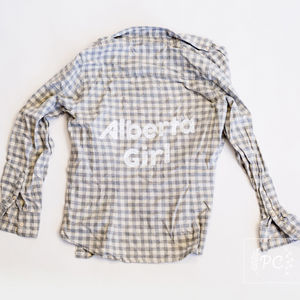 Vintage Flannel | Alberta Girl - Women's M | 6