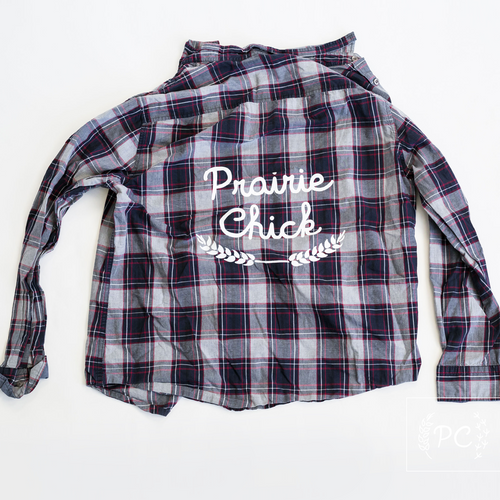 Vintage Button Down | Prairie Chick - Men's L | 12