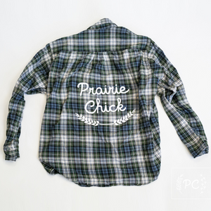 Vintage Flannel | Prairie Chick - Men's L | 3