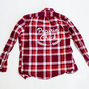 Vintage Button Down | Prairie Chick - Men's L | 8