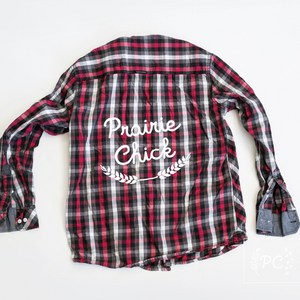Vintage Button Down | Prairie Chick - Men's M | 3