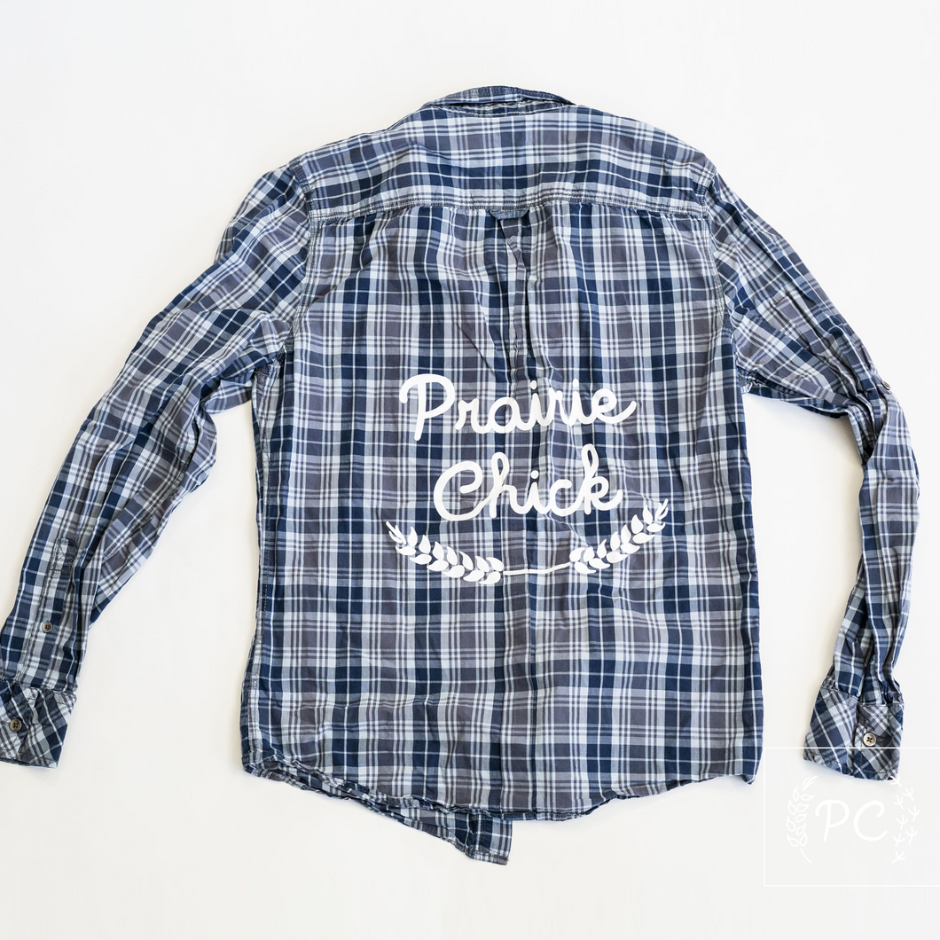 Vintage Button Down | Prairie Chick - Men's S | 3