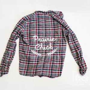 Vintage Flannel | Prairie Chick - Men's S | 4