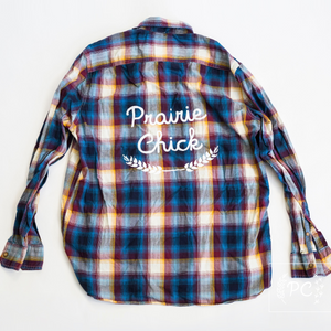 Vintage Button Down | Prairie Chick - Men's XL | 1