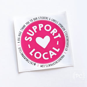 Decal | Support Local