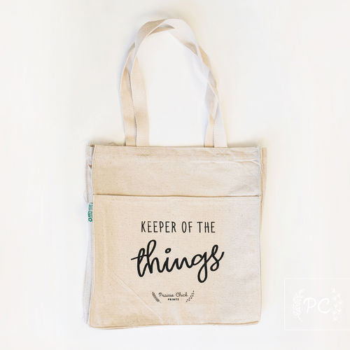 keeper of the things tote