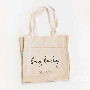 bag lady tote