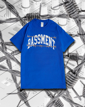 BASSMENT Arch Tee - Blue