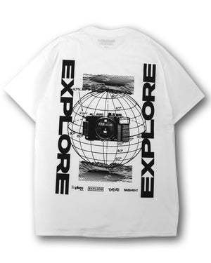Explore Tee White (Last One - XL)