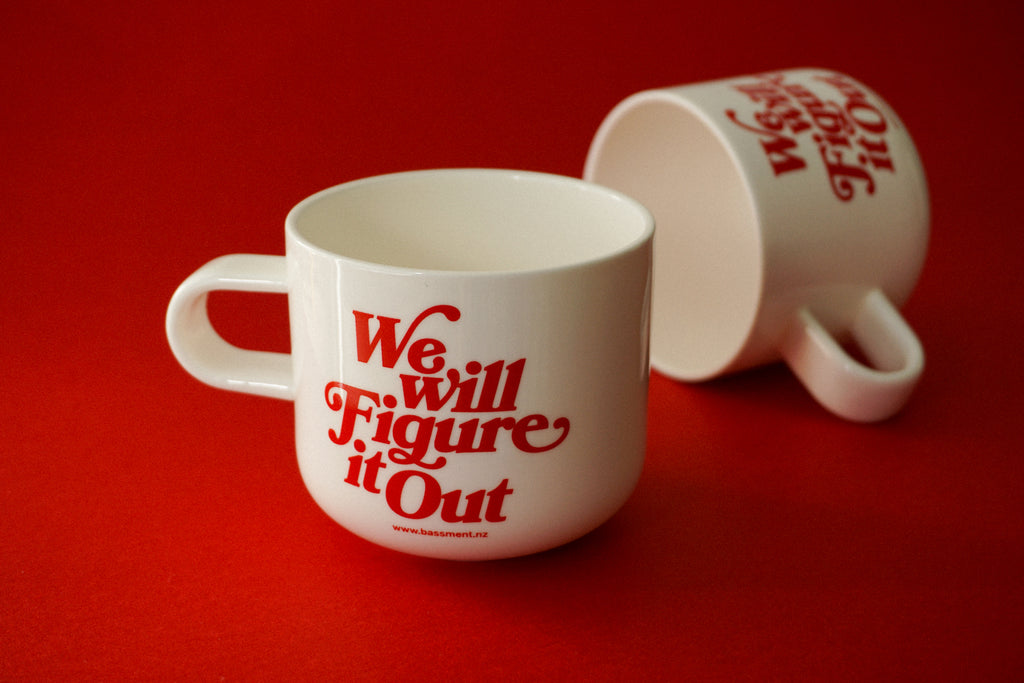 """We Will Figure It Out"" Mug"