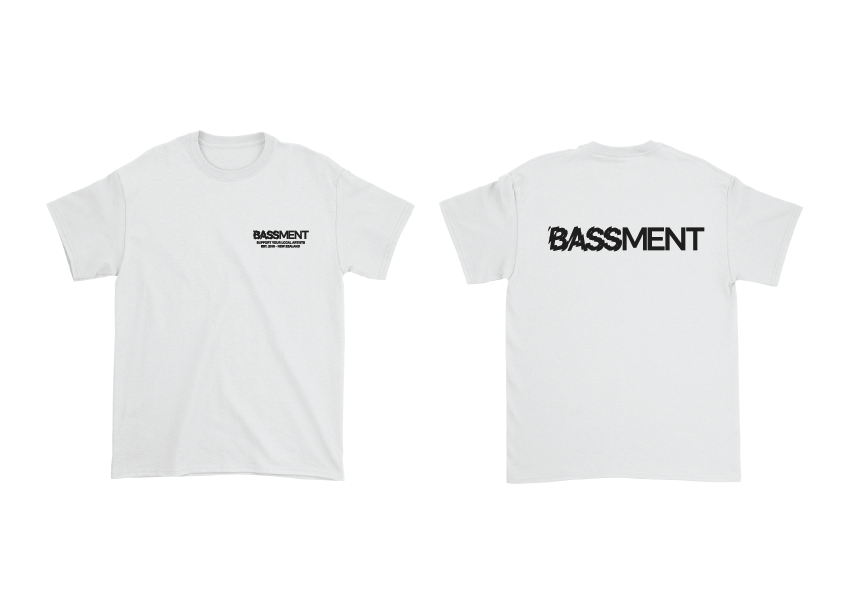 SUPPORT TEE (White)