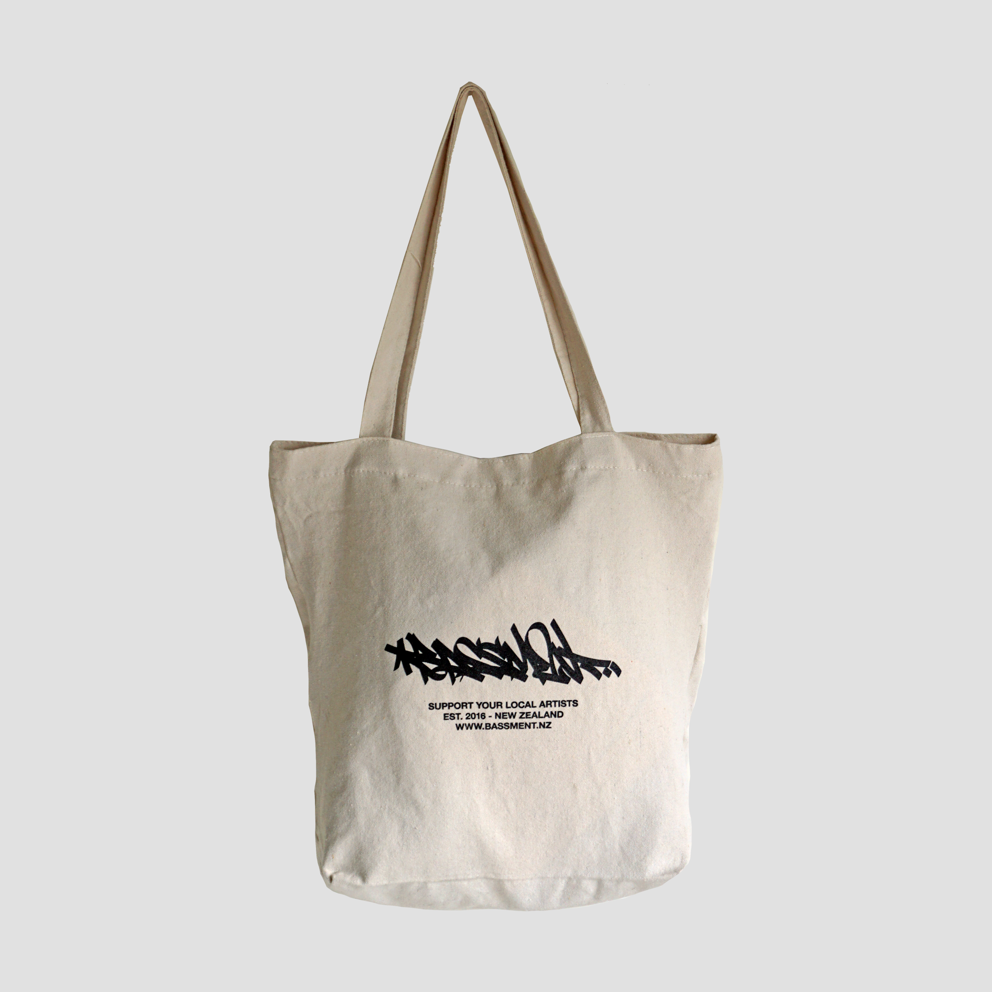 TOTE BAG w ZIPPER