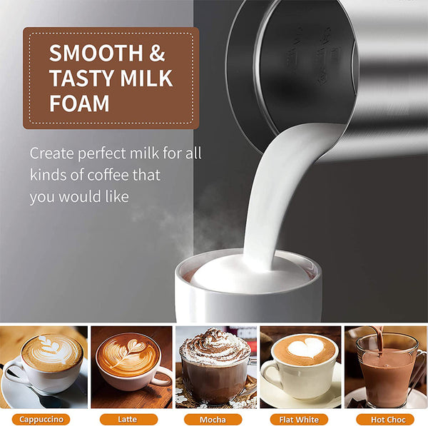 Noiseless Milk Frother