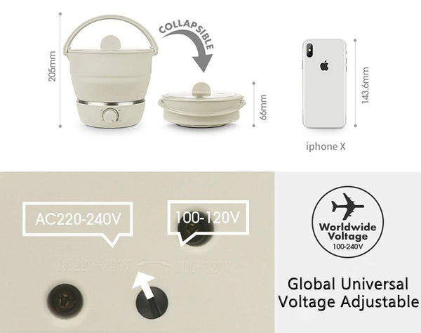 Travel Silicone Cooker
