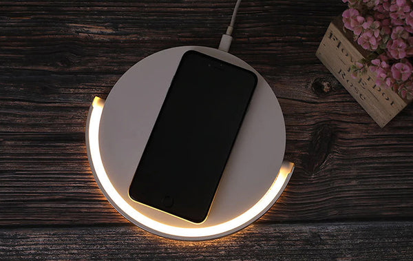Wireless Charger Table Lamp