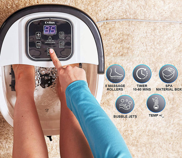 Premium Self-Starting Foot Spa Bath Massager