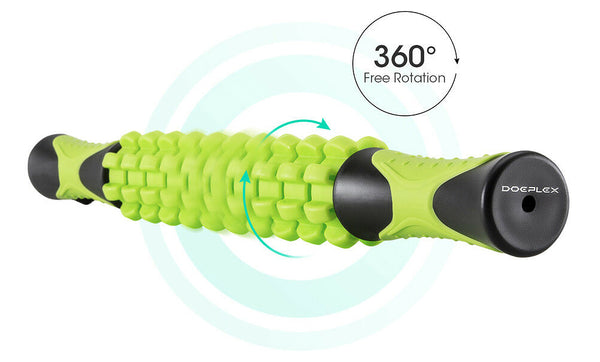 360° Freely Body Massager Soreness Spinning Rollers