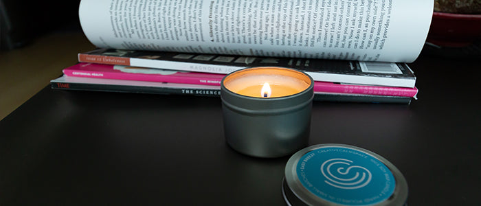 creativecalmspace mindful moments candle
