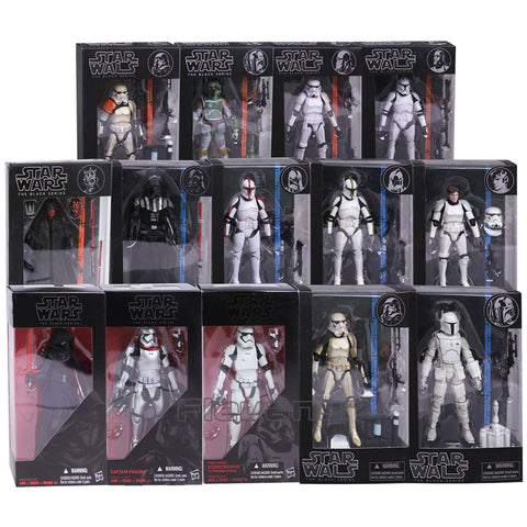 Star Wars The Black Series PVC Action Figure 14 Types