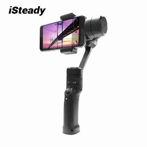 iSteady GC2 Three Axis Handheld Gimble Stabilizer Portable Universal Selfiestick for Smartphone Video Mobile Phone