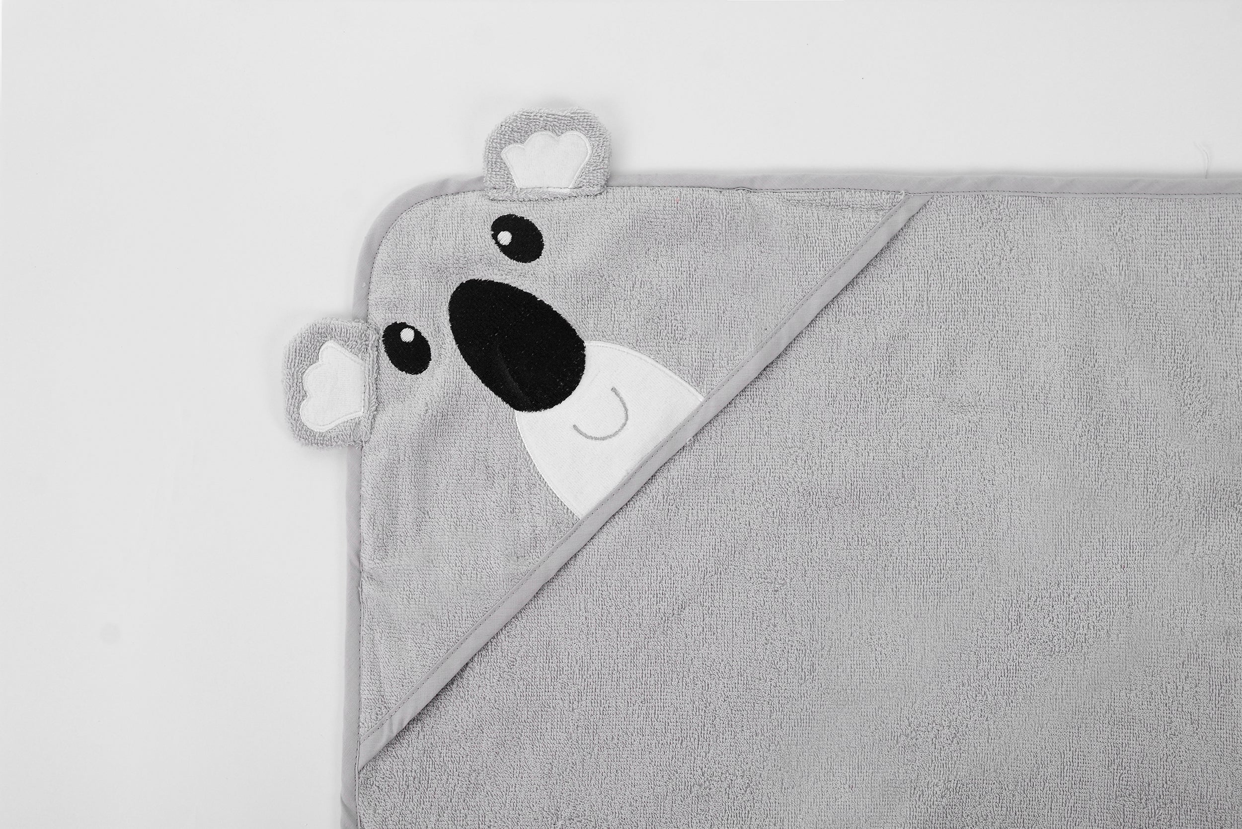 Koala Hooded Towel with 3D Animal Hood