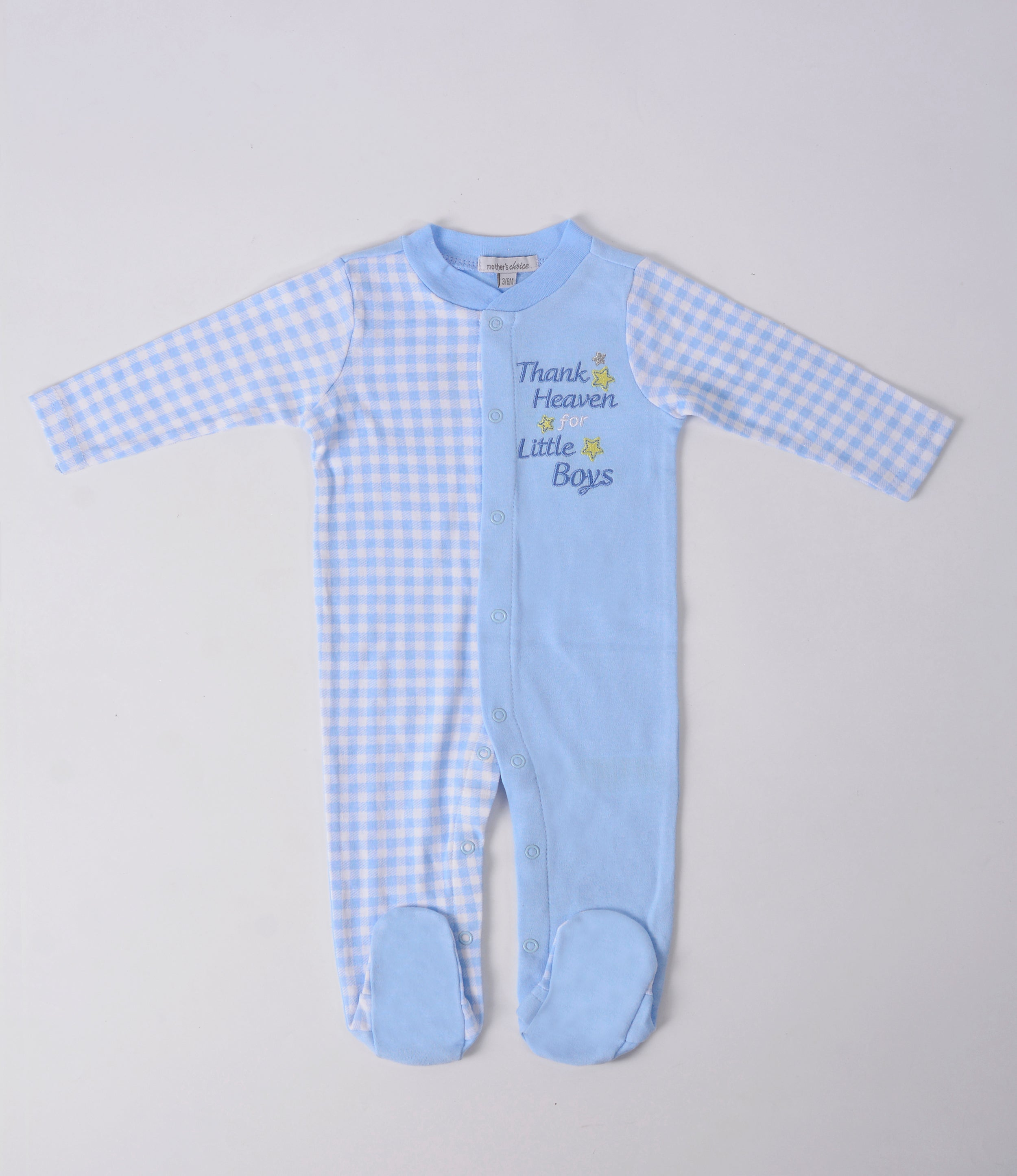 Footed Bodysuit - Thank Heaven for Little Boys