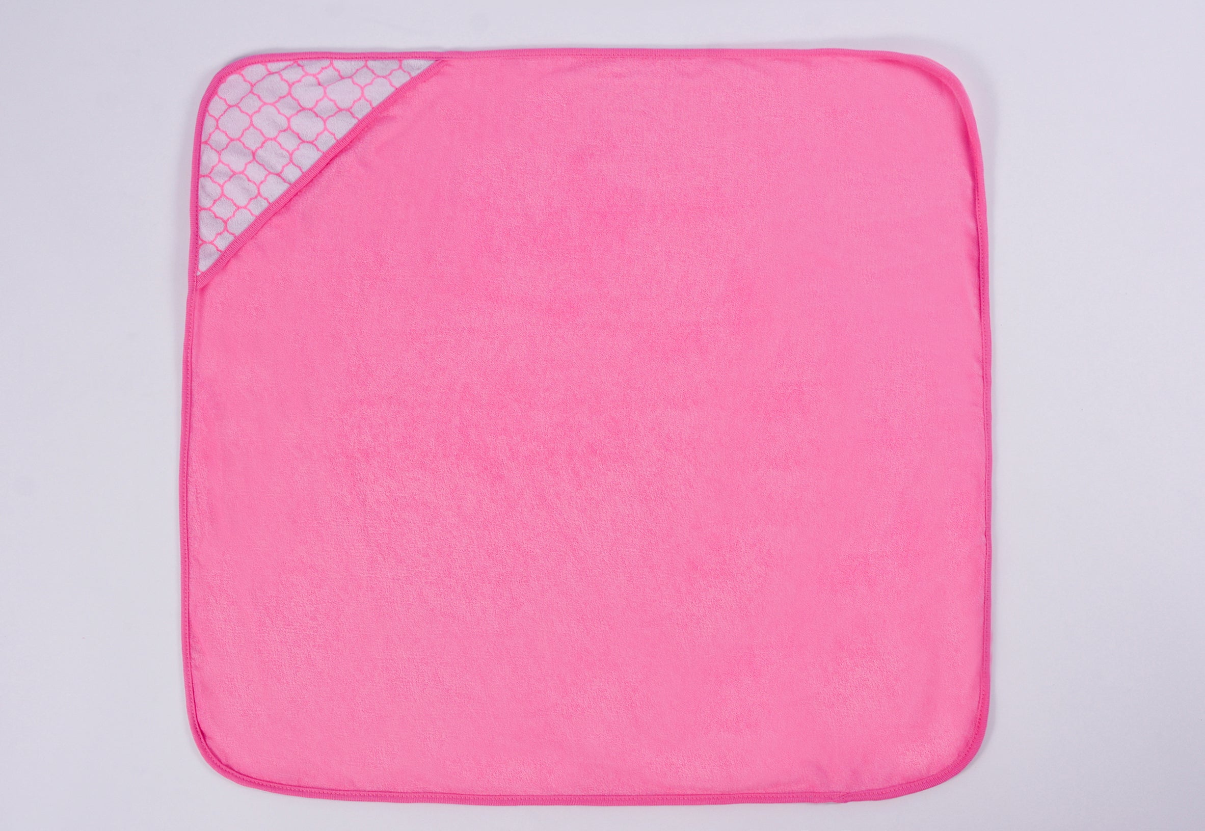 Pack of 3 Hooded Towels - Pink