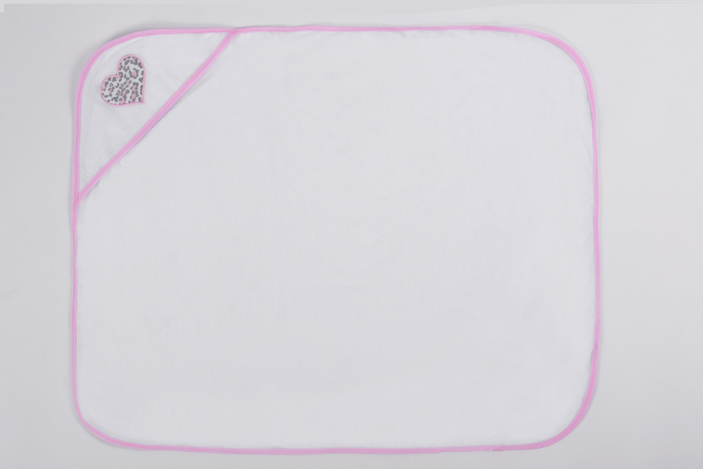 Pack of 2 Hooded Towels - Pink