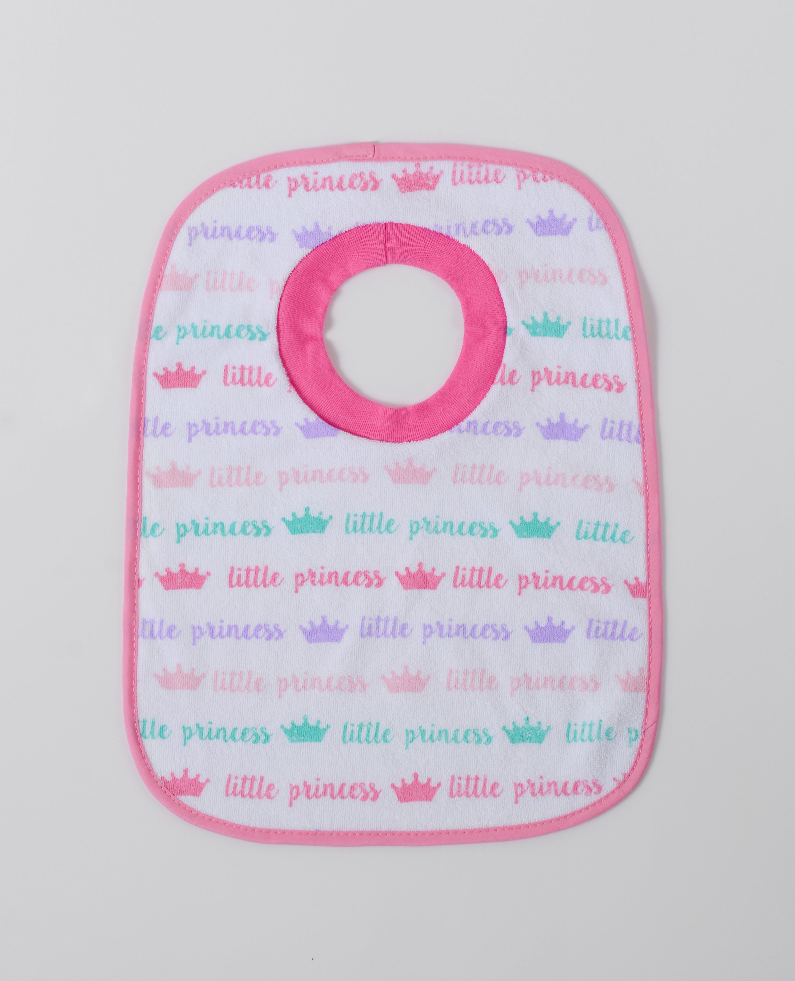 3 in a pack Pop-over bibs