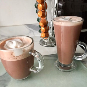 Use your Nespresso machine to make hot chocolate
