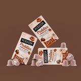 Poddies Chocolate flavoured Nespresso Compatible Pod Sugar Free 100% Natural Colours
